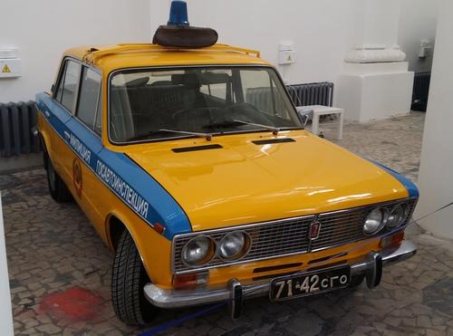 ВАЗ с роторным двигателем (ГАИ)